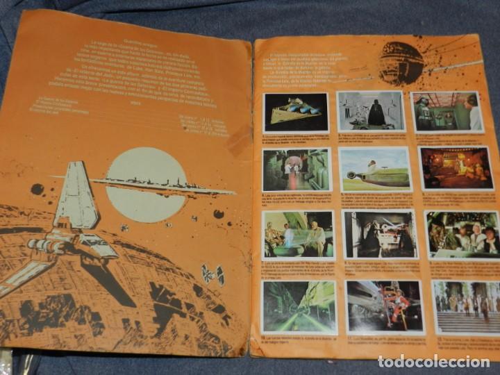 Coleccionismo Álbum: (M) ALBUM LA GUERRA DE LAS GALAXIAS - EL RETORNO DEL JEDI 1983, COMPLETO - Foto 2 - 248723635