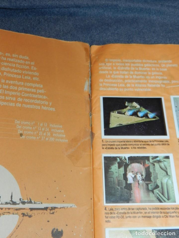 Coleccionismo Álbum: (M) ALBUM LA GUERRA DE LAS GALAXIAS - EL RETORNO DEL JEDI 1983, COMPLETO - Foto 3 - 248723635