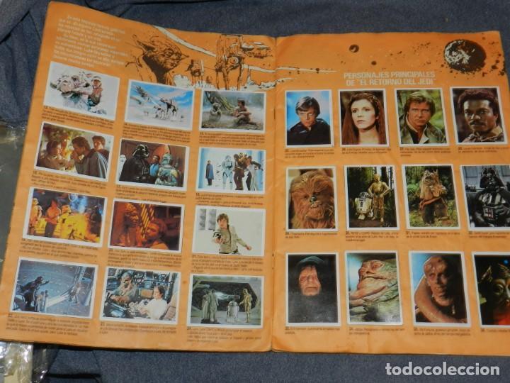 Coleccionismo Álbum: (M) ALBUM LA GUERRA DE LAS GALAXIAS - EL RETORNO DEL JEDI 1983, COMPLETO - Foto 4 - 248723635