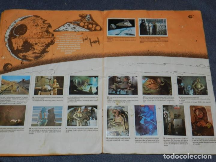 Coleccionismo Álbum: (M) ALBUM LA GUERRA DE LAS GALAXIAS - EL RETORNO DEL JEDI 1983, COMPLETO - Foto 5 - 248723635