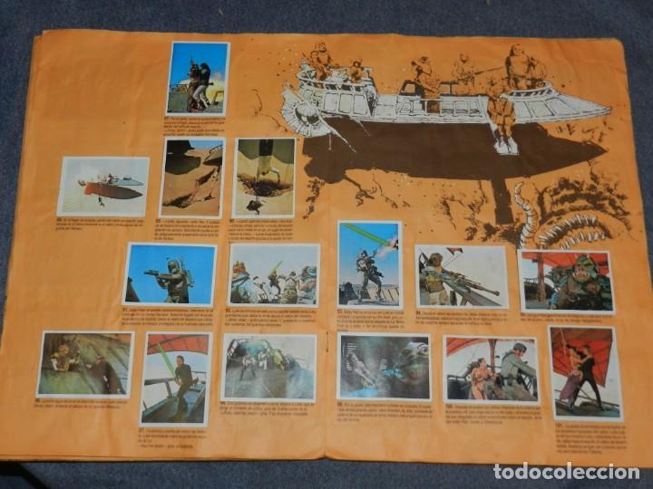 Coleccionismo Álbum: (M) ALBUM LA GUERRA DE LAS GALAXIAS - EL RETORNO DEL JEDI 1983, COMPLETO - Foto 6 - 248723635
