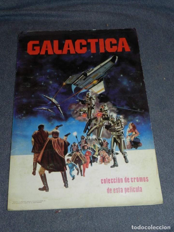 (M) ALBUM COMPLETO - GALACTICA 1978 COLECCION DE CROMOS DE ESTE PELICULA (Coleccionismo - Cromos y Álbumes - Álbumes Completos)