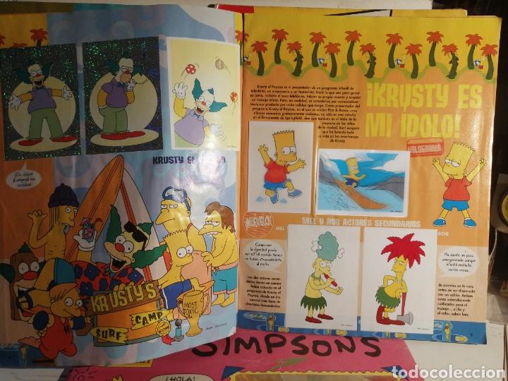 Coleccionismo Álbum: LOTE LOS SIMPSONS DOS ALBUMES COMPLETOS Y UNO DE REGALO - Foto 7 - 249116795