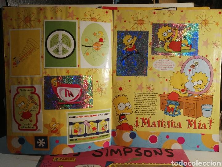 Coleccionismo Álbum: LOTE LOS SIMPSONS DOS ALBUMES COMPLETOS Y UNO DE REGALO - Foto 9 - 249116795