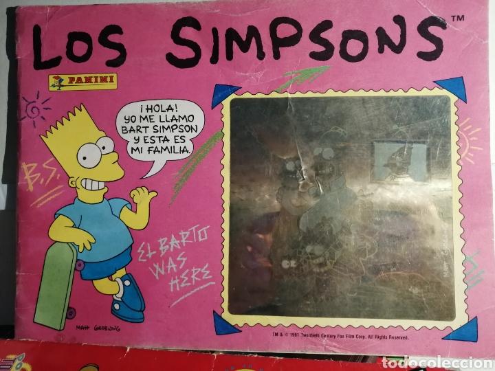 Coleccionismo Álbum: LOTE LOS SIMPSONS DOS ALBUMES COMPLETOS Y UNO DE REGALO - Foto 10 - 249116795