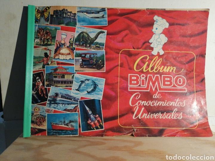 ALBUM BIMBO DE CONOCIMIENTOS UNIVERSALES COMPLETO LEER DESCRIPCION (Coleccionismo - Cromos y Álbumes - Álbumes Completos)