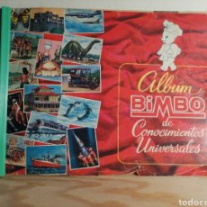 Coleccionismo Álbum: ALBUM BIMBO DE CONOCIMIENTOS UNIVERSALES COMPLETO LEER DESCRIPCION. Lote 249212790
