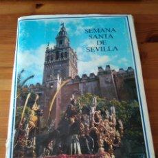 Coleccionismo Álbum: SEMANA SANTA DE SEVILLA. ALBUM DE CROMOS (COMPLETO / ED. MONTE DE PIEDAD) 1986. Lote 249348035