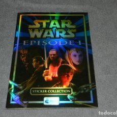 Coleccionismo Álbum: (M) ALBUM COMPLETO - STAR WARS EPISODE I STICKER COLLECTIONS, MERLIN COLLECTIONS. Lote 249483820