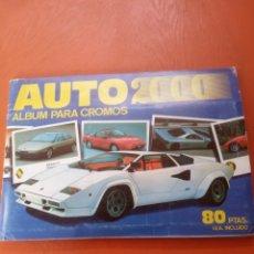 Collezionismo Álbum: ÁLBUM DE CROMOS AUTO 2000 DE LA EDITORIAL CÓMIC ROMO MUY BUEN ESTADO. Lote 251336765