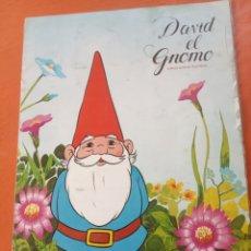 Collezionismo Álbum: ÁLBUM COMPLETO DAVID EL GNOMO DE DANONE. Lote 251529085
