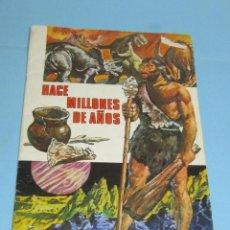 Coleccionismo Álbum: HACE MILLONES DE AÑOS-COMPLETO - RUIZ ROMERO AÑO 1971 EN MUY BUEN ESTADO. Lote 251760200