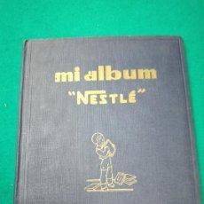 Coleccionismo Álbum: MI ALBUM NESTLE COMPLETO. COLOR AZUL. SERIES DE LA 51 A LA 80.. Lote 251955880