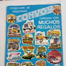 Collezionismo Álbum: ÁLBUM COMPLETO CONVOY MUY BUEN ESTADO. Lote 252690040