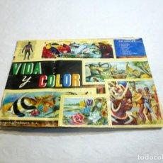 Collectionnisme Album: VIDA Y COLOR, ALBUMES ESPAÑOLES, DE 1965, COMPLETO.VER FOTOS Y DESCRIPCION.. Lote 253346480