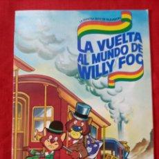 Coleccionismo Álbum: ALBUM COMPLETO LA VUELTA AL MUNDO DE WILLY FOC DE 96 CROMOS. Lote 253448655