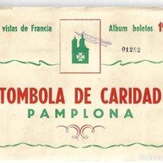 Coleccionismo Álbum: VISTAS DE FRANCIA - COMPLETO. Lote 254218490