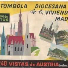 Coleccionismo Álbum: VISTAS DE AUSTRIA - COMPLETO. Lote 254219120