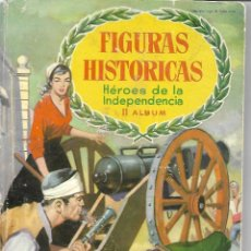 Coleccionismo Álbum: FIGURAS HISTORIAS SEGUNDO - COMPLETO. Lote 254226185