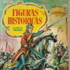 Coleccionismo Álbum: FIGURAS HISTORIAS TERCERO - COMPLETO. Lote 254227770