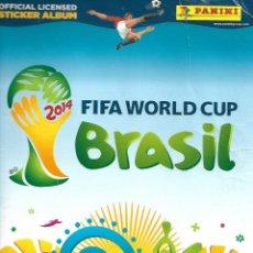 Coleccionismo Álbum: BRASIL - WORLD CUP 2014 - COMPLETO. Lote 254229135