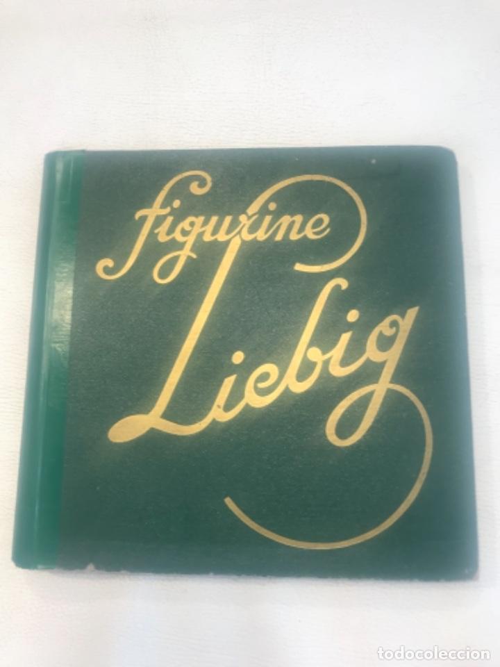 ALBUM DE CROMOS COMPLETO FIGURINE LIEBIG 40 SERIES EN TOTAL 120 CROMOS. 1902. (Coleccionismo - Cromos y Álbumes - Álbumes Completos)