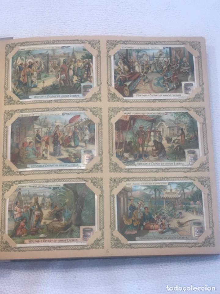 Coleccionismo Álbum: ALBUM DE CROMOS COMPLETO FIGURINE LIEBIG 40 SERIES EN TOTAL 120 CROMOS. 1902. - Foto 7 - 254333435