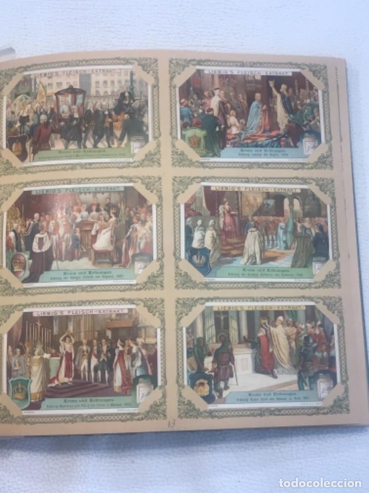 Coleccionismo Álbum: ALBUM DE CROMOS COMPLETO FIGURINE LIEBIG 40 SERIES EN TOTAL 120 CROMOS. 1902. - Foto 14 - 254333435
