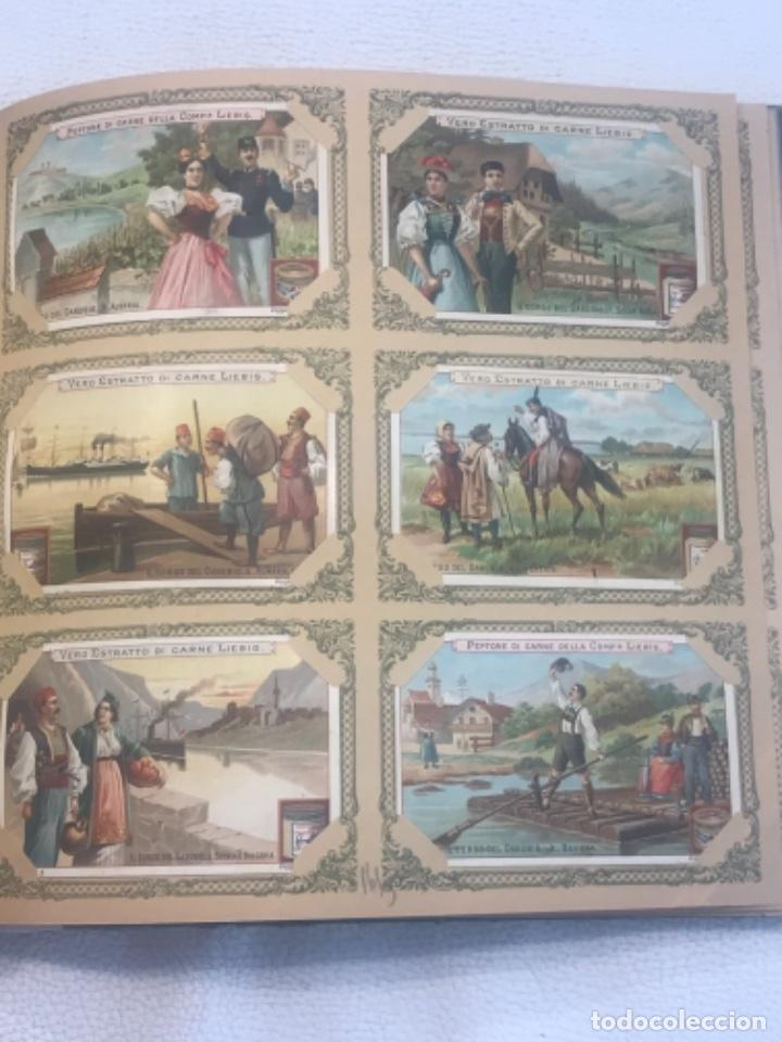 Coleccionismo Álbum: ALBUM DE CROMOS COMPLETO FIGURINE LIEBIG 40 SERIES EN TOTAL 120 CROMOS. 1902. - Foto 17 - 254333435