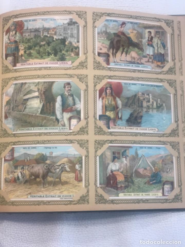 Coleccionismo Álbum: ALBUM DE CROMOS COMPLETO FIGURINE LIEBIG 40 SERIES EN TOTAL 120 CROMOS. 1902. - Foto 34 - 254333435