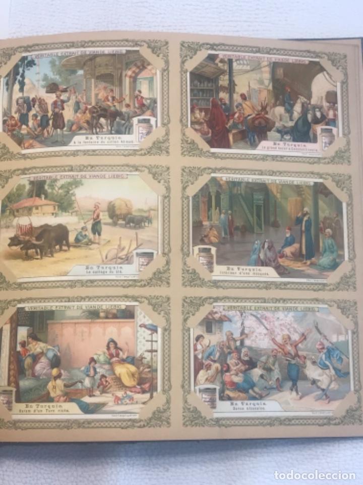 Coleccionismo Álbum: ALBUM DE CROMOS COMPLETO FIGURINE LIEBIG 40 SERIES EN TOTAL 120 CROMOS. 1902. - Foto 39 - 254333435