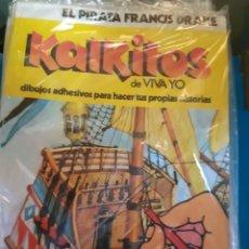 Collectionnisme Album: KALKITOS EL PIRATA FRANCIS DRAKE. Lote 254486860