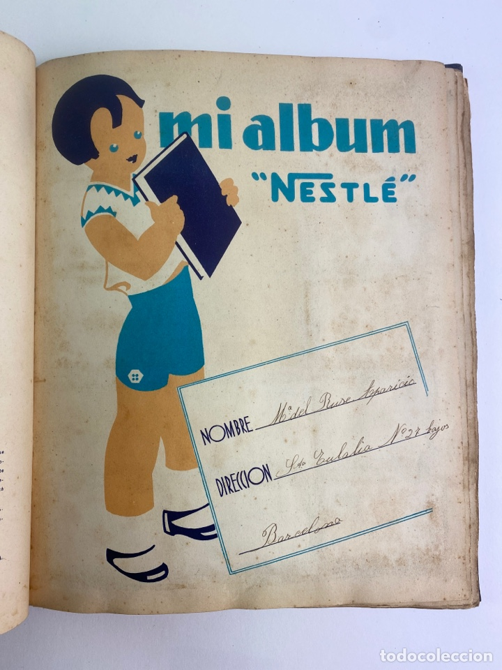 Coleccionismo Álbum: MI ALBUM NESTLE, COMPLETO. 1932. - Foto 4 - 254756470