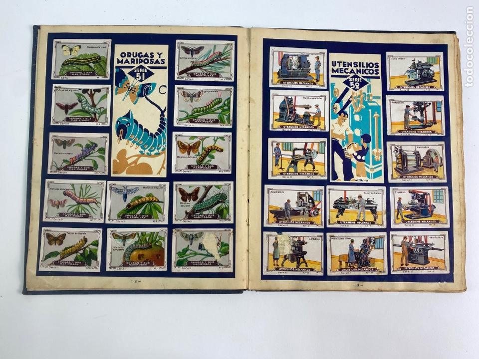 Coleccionismo Álbum: MI ALBUM NESTLE, COMPLETO. 1932. - Foto 5 - 254756470