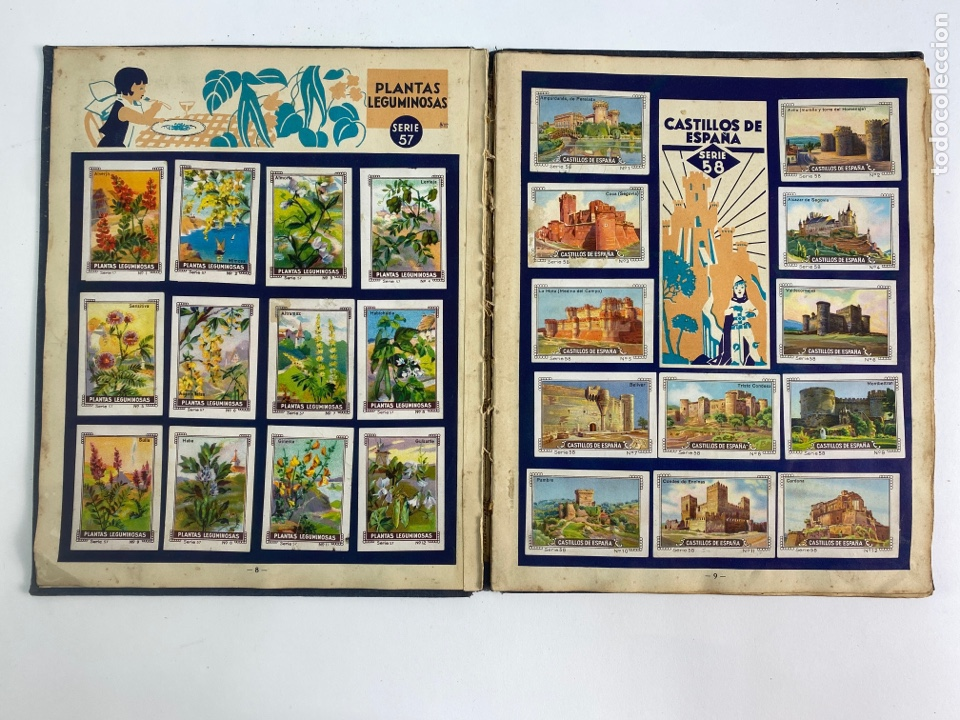 Coleccionismo Álbum: MI ALBUM NESTLE, COMPLETO. 1932. - Foto 7 - 254756470
