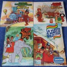 Coleccionismo Álbum: LA VUELTA AL MUNDO DE WILLY FOG (DANONE) + 3 LIBROS DE CÍRCULO DE LECTORES. Lote 254036785