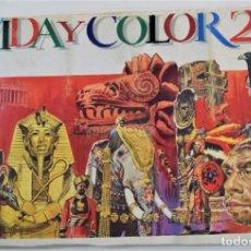 Coleccionismo Álbum: VIDA Y COLOR 2 - COMPLETO EN MUY BUEN ESTADO INCLUIDO LOMO - 506 CROMOS - ALBUMES ESPAÑOLES S.A.. Lote 254856155