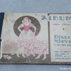 Coleccionismo Álbum: BLANCA NIEVES Y LOS SIETE ENANITOS - WALT DISNEY - ED. FHER. Lote 255015930