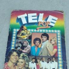 Coleccionismo Álbum: TELEPOP - ALBUM COMPLETO. Lote 255016360