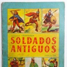 Coleccionismo Álbum: SOLDADOS ANTIGUOS COLECCIÓN CROMOFHER AÑOS 50 LIBRO Nº 116 ÁLBUM CROMOS FHER BRUGUERA MAGA. Lote 255415035