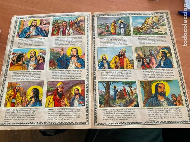 Coleccionismo Álbum: VIDA DE JESUCRISTO ALBUM COMPLETO 256 CROMOS BRUGUERA (COIB26) - Foto 14 - 255548200