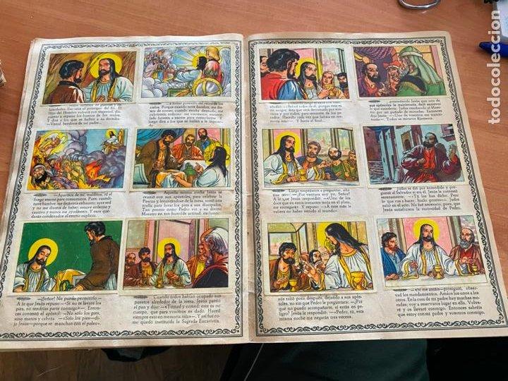 Coleccionismo Álbum: VIDA DE JESUCRISTO ALBUM COMPLETO 256 CROMOS BRUGUERA (COIB26) - Foto 20 - 255548200