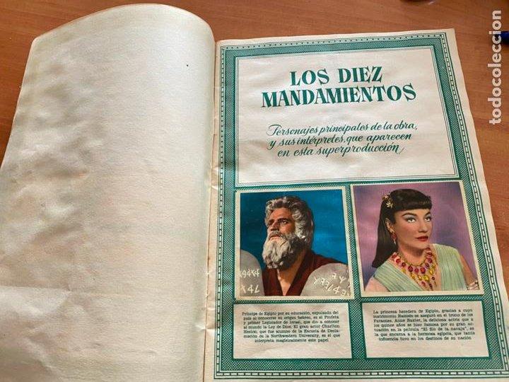 Coleccionismo Álbum: LOS DIEZ MANDAMIENTOS ALBUM COMPLETO 210 CROMOS BRUGUERA (COIB26) - Foto 4 - 255549260
