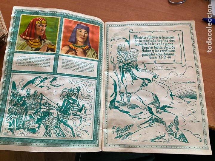 Coleccionismo Álbum: LOS DIEZ MANDAMIENTOS ALBUM COMPLETO 210 CROMOS BRUGUERA (COIB26) - Foto 6 - 255549260