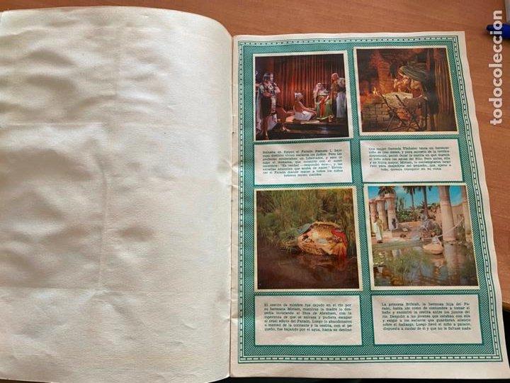 Coleccionismo Álbum: LOS DIEZ MANDAMIENTOS ALBUM COMPLETO 210 CROMOS BRUGUERA (COIB26) - Foto 7 - 255549260