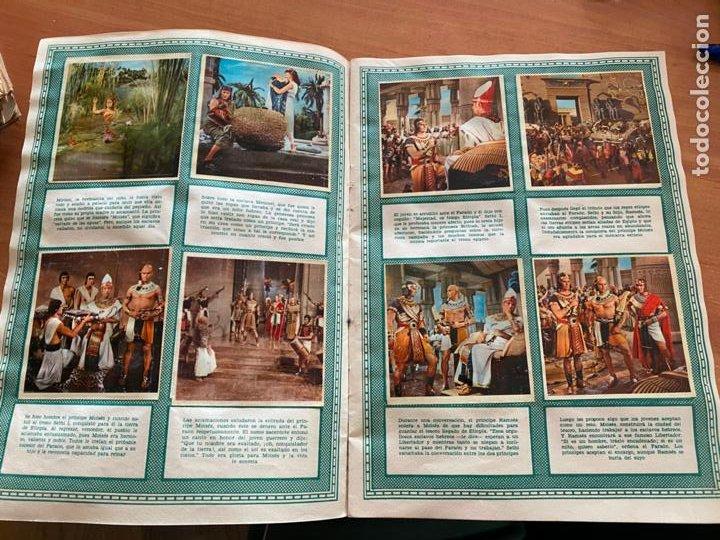 Coleccionismo Álbum: LOS DIEZ MANDAMIENTOS ALBUM COMPLETO 210 CROMOS BRUGUERA (COIB26) - Foto 8 - 255549260