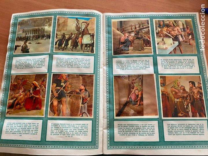 Coleccionismo Álbum: LOS DIEZ MANDAMIENTOS ALBUM COMPLETO 210 CROMOS BRUGUERA (COIB26) - Foto 9 - 255549260