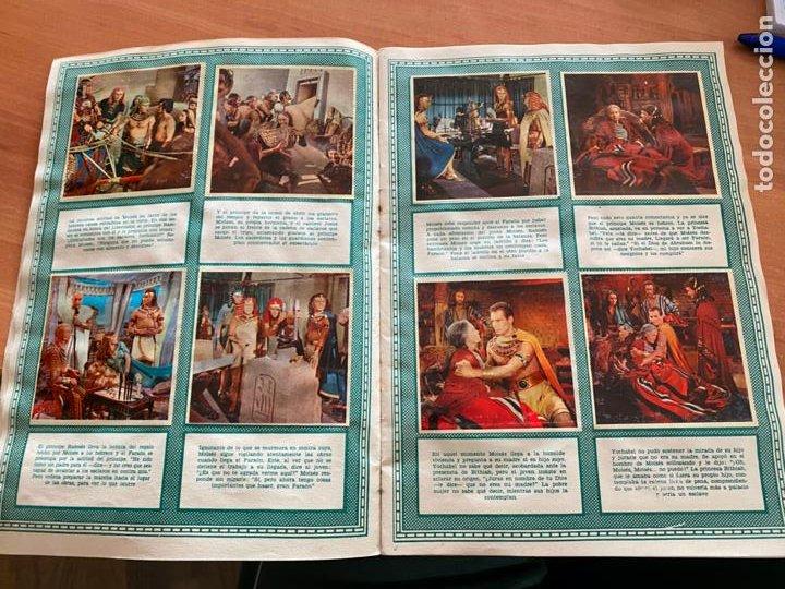 Coleccionismo Álbum: LOS DIEZ MANDAMIENTOS ALBUM COMPLETO 210 CROMOS BRUGUERA (COIB26) - Foto 10 - 255549260