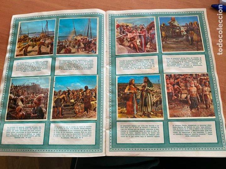 Coleccionismo Álbum: LOS DIEZ MANDAMIENTOS ALBUM COMPLETO 210 CROMOS BRUGUERA (COIB26) - Foto 11 - 255549260