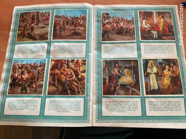 Coleccionismo Álbum: LOS DIEZ MANDAMIENTOS ALBUM COMPLETO 210 CROMOS BRUGUERA (COIB26) - Foto 12 - 255549260